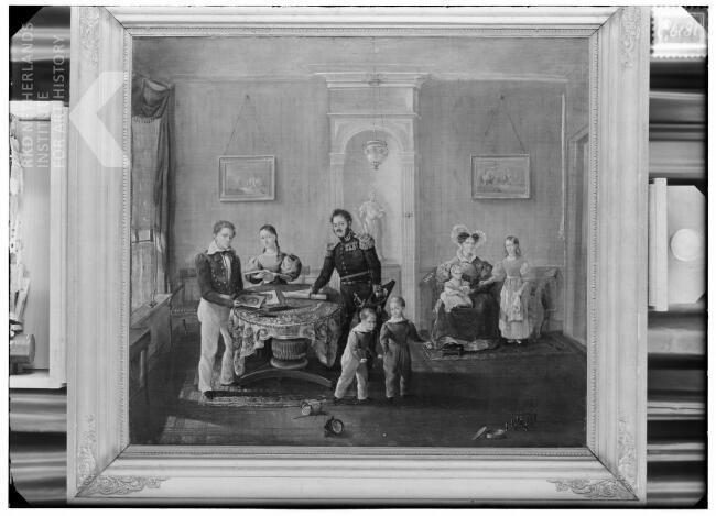 G. Schimmelpenning | Portrait of the Carel Frederik Gey van Pittius (1790-1860) family