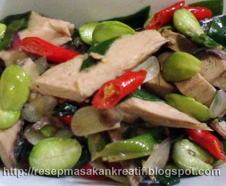 RESEP TUMIS PINDANG TONGKOL PETAI   resep masakan tradisional khas sunda