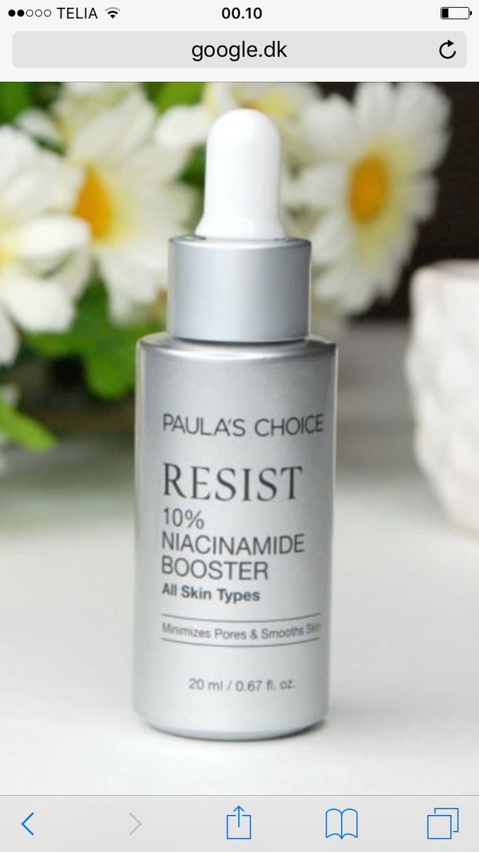 God serum/creme til store pore i huden