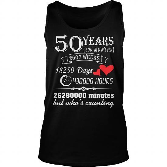 50 Years Wedding Anniversary Gift 50th T Shirt