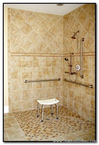 accessible bathrooms raleigh nc accessible homes universal design home builders - Handicap Accessible Bathroom Design