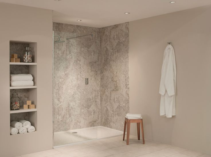 Crema Mascarello Shower Panels