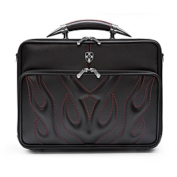 @Overstock - Carry your laptop and important paperwork in style with this bullfight leather computer briefcase.  With many accommodating pockets and sleeves, you can keep all of your documents and laptop safe and secure while you are on the go.  http://www.overstock.com/Luggage-Bags/Zeyner-Bullfight-Leather-Top-Zip-17-inch-Laptop-Briefcase/6443040/product.html?CID=214117 $199.99