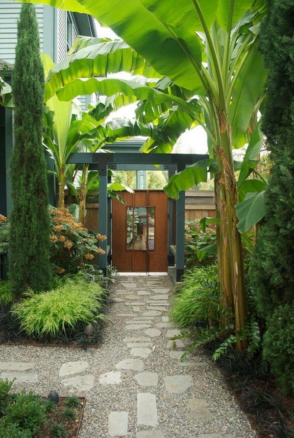 Tropical Outdoor Garden Landscaping Ideas