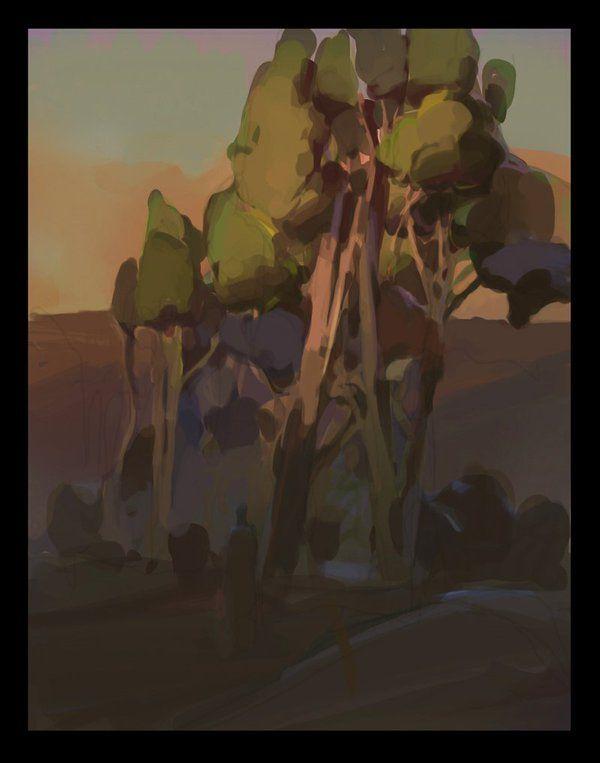 colour & lighting experiment - trees, 염민혁 Min Yum[bumskee] 아틈 강사 https://twitter.com/min_yum www.minart.net http://cafe.naver.com/arteum/2022