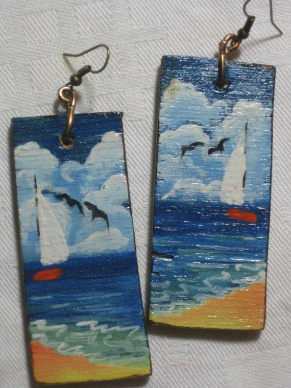 Check out this item in my Etsy shop https://www.etsy.com/listing/228179780/handmade-wooden-painted-earrings