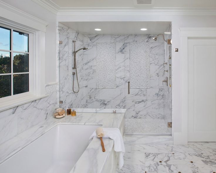 Allwood Construction Bathrooms Double Shower Shared