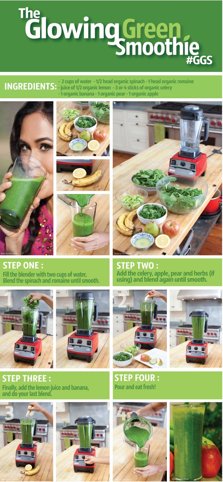 Glowing Green Smoothie