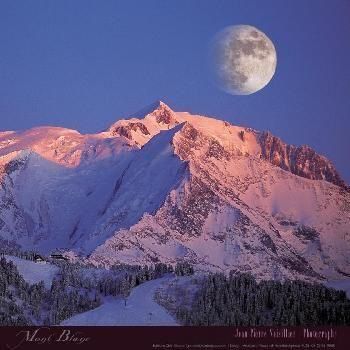 Poster de Jean-Pierre Noisillier Massif du Mont Blanc