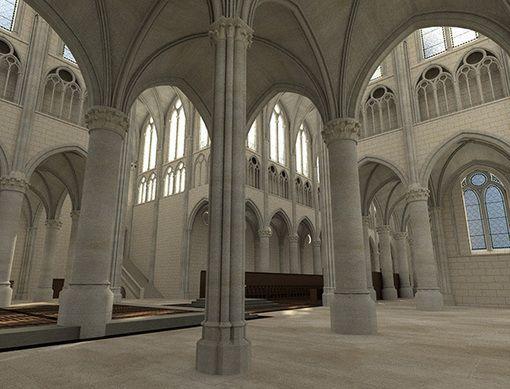 #JEP2015 #Oise Abbaye de Royaumont (réalité virtuelle Oculus Rift, visionneuses stéréoscopiques) #3D