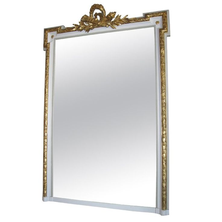 Exquisite French Empire Style Mirror | 1stdibs.com