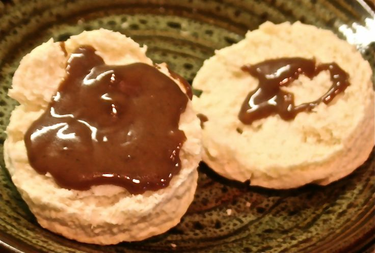 """Easy to follow chocolate gravy and biscuits recipe. Best gravy and biscuits around. This is a """"from scratch"""" recipe."""