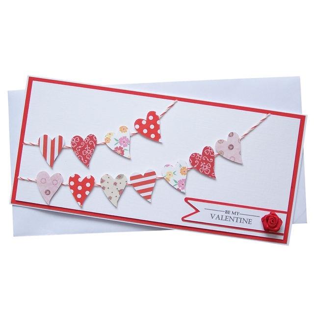 Handmade Valentines Card.....