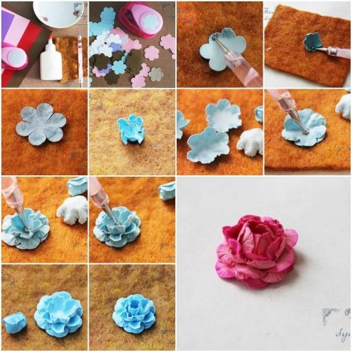 how to make tissue paper flowers step by step dailymotion