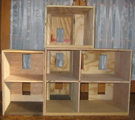 A Barbie Doll Playhouse For Sarah Doll House Plans Dollhouse Woodworking Plans Doll House