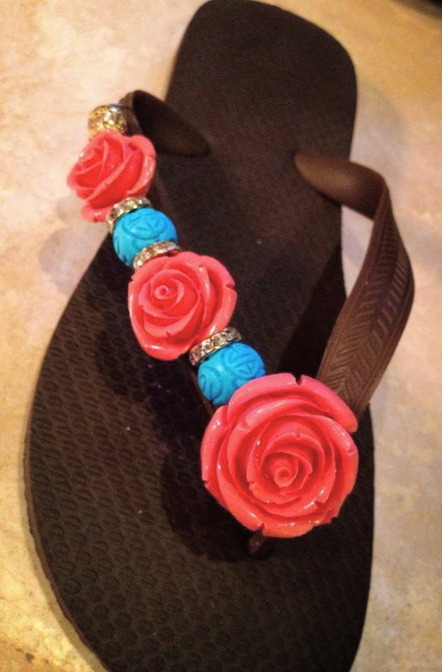 Bali Blues By Flipinista, Your BFF(best flip flop)™ for information email Info@Flipinista.com