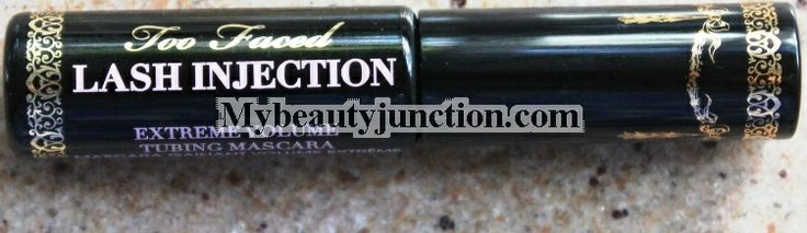 Here is my review of @Too Faced Cosmetics  Lash Injection Tubing #Mascara, before and after photos and a comparison.  #makeupreview #beauty #beautychat #eotd #bbloggers #beautyblogs #beautyblog #makeupblogs #makeup #beautychat #gigbloggers #wbloggers #bloggers via @Renu MyBeautyJunction
