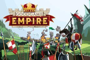 Goodgame Empire Goodgame Empire Strateji ve taktik! İmparatorluğunu kurmaya hazırsan hemen oyuna başla, tüm dünyadan oyuncular seni bekliyor... Kendi krallığını kurmak, geliştirmek ve düşman krallıklarla savaşmaya hazır mısın? http://empire.goodgamestudios.com/?w=164902