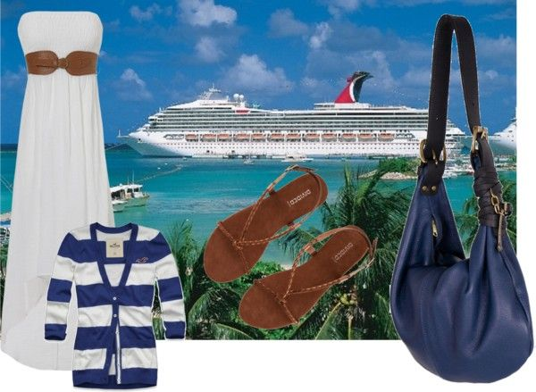 """Cruise Attire =)"" by apostolicgirl1996 ❤ liked on Polyvore"