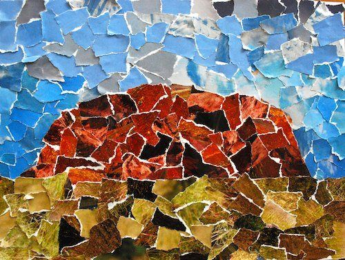 Colorful Collages of the World's Natural Wonders   Creative ...