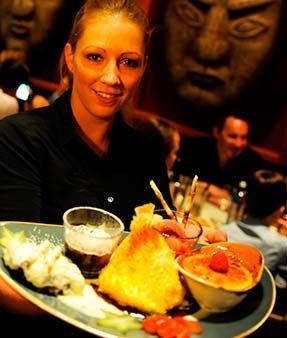 Mongos Restaurant Köln Deutz, asiatische Küche, mongolisches Buffet