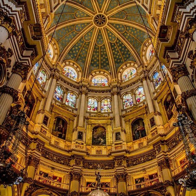Catedral de Granada Spain by @proudbasque on IG.