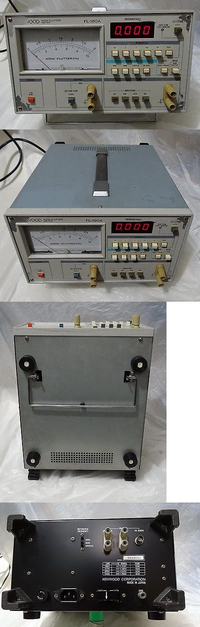 Vintage Record Players: Tested Kenwood Fl-180A Wow And Flutter Meter For Record Players BUY IT NOW ONLY: $130.0