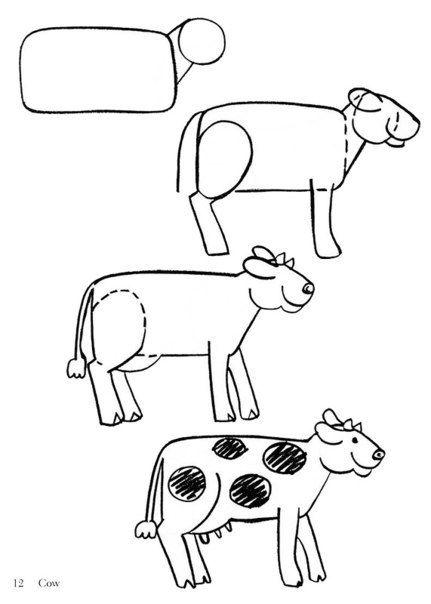 Mejores 69 imágenes de учимся рисовать en Pinterest | Dibujar ...