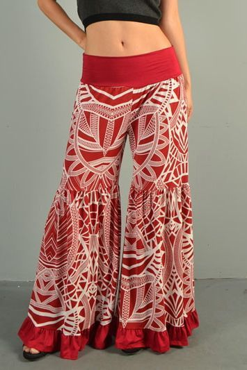 Gypsy Ruffles Pants