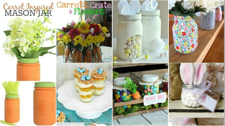 Hundreds of ideas can be picked to make Mason jar Easter crafts, gifts and home décor elements with the help of them. You can pick anyone or more.