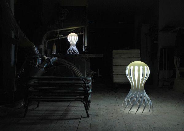 CIRRATA Octopus Lamp By Markus Johansson Design Ideas
