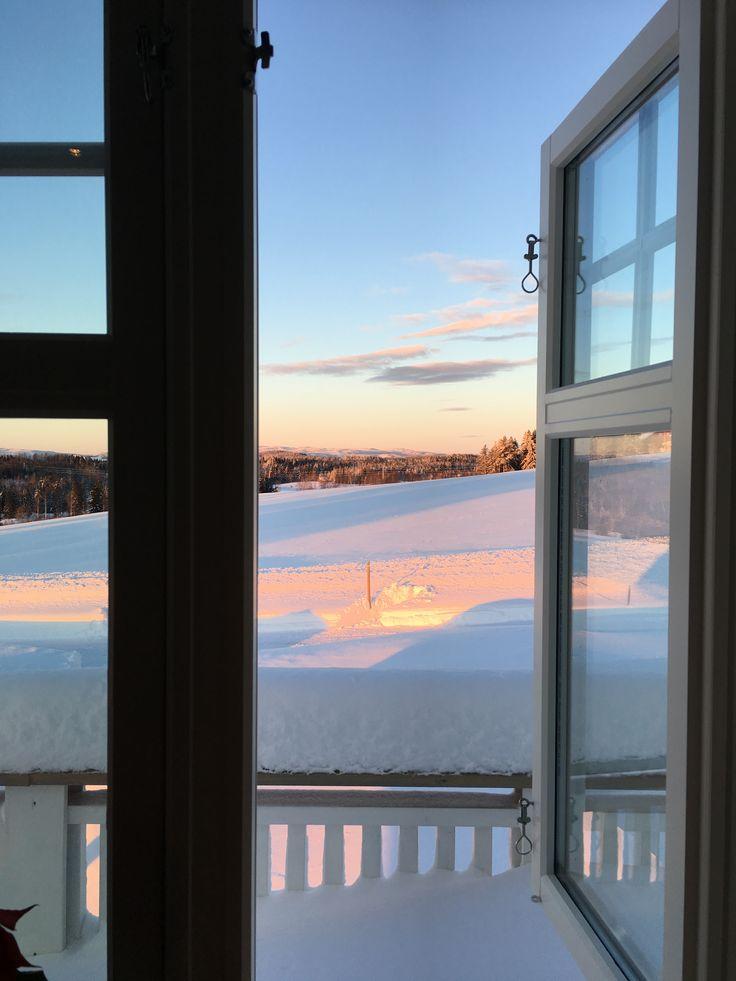 Morgenlys i Veldre Foto Hege Wølner