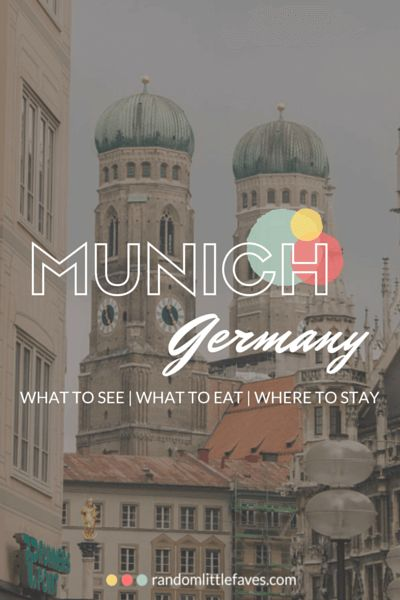 Munich, Germany...one of my favorite places! There's so much to see & do!