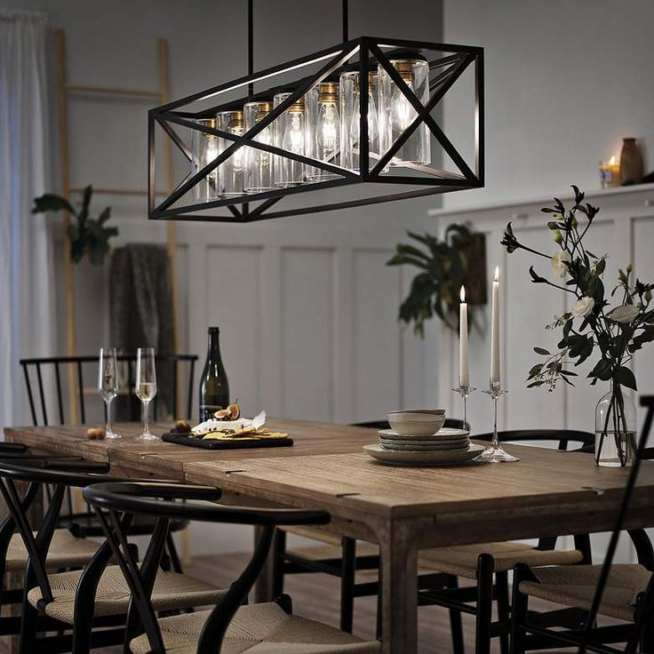 Farmhouse Dining Room Lighting Kitchen, Modern Farmhouse Chandeliers For Dining Room