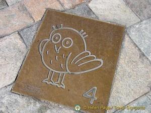 The Owl Trail in Dijon, France