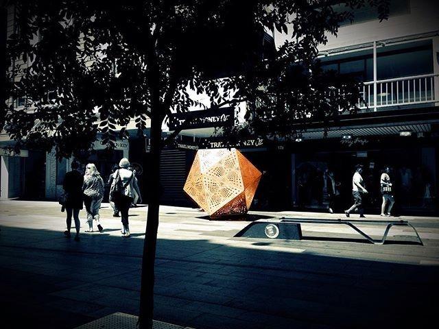 iSpot you!✨ . By @hybycozo @goldgeometry #hybycozo #fringefestival2016 #Adelaide #mycityAdelaide #theCityAdelaide @rundlemall #ADLfringe