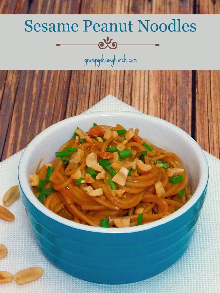 sesame peanut noodles noodles grumpy s noodles recipe asian noodles ...