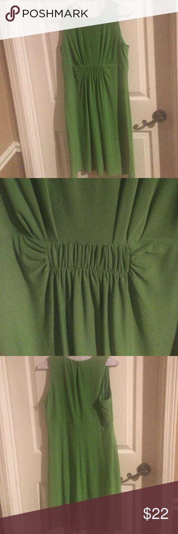 Green sleeveless dress Green, sleeveless dress, size 8, animal & smoke free home Evan Picone Dresses Mini