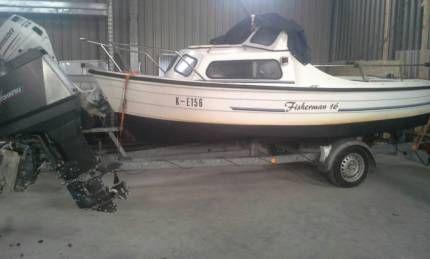 Fisherman 16 angelboot in Schleswig-Holstein - Schrepperie ...