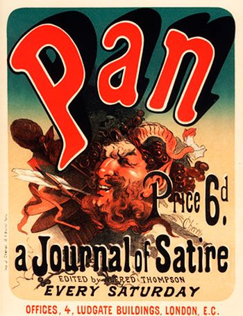 Pan, a Journal of Satire. Jules Cheret