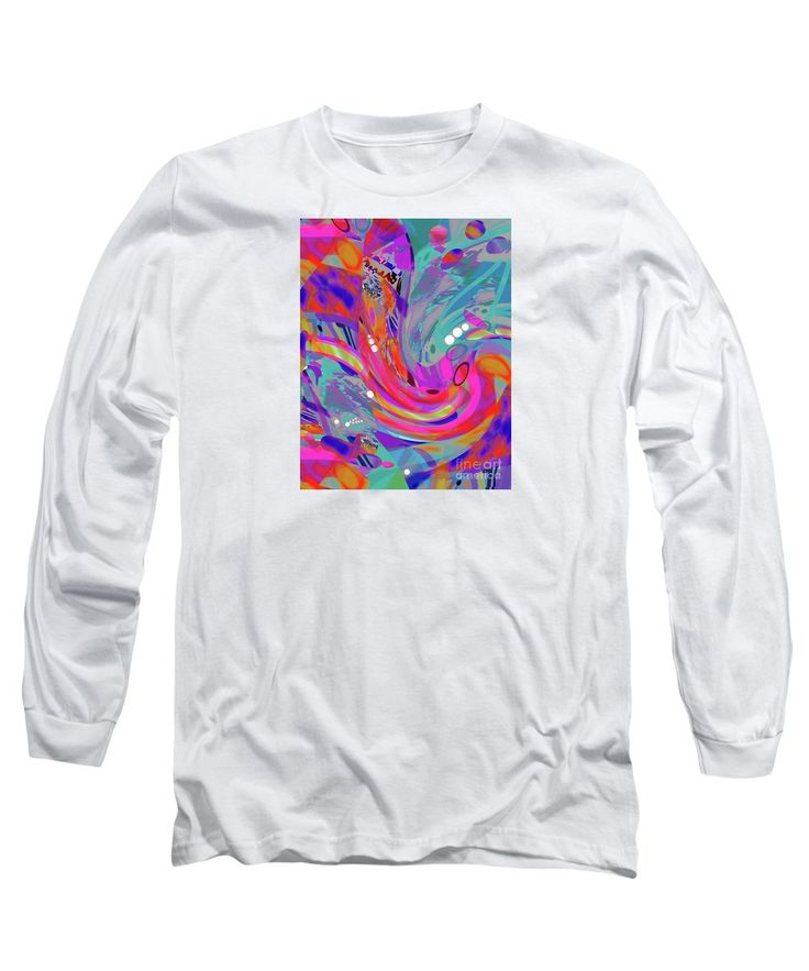 Purchase a long-sleeve t-shirt featuring the image of the colors of Relentless Compelling Rhythm by Expressionistart studio Priscilla Batzell.  Available in sizes S - XXL.  Each t-shirt is printed on-demand, ships within 1 - 2 business days, and comes with a 30-day money-back guarantee.