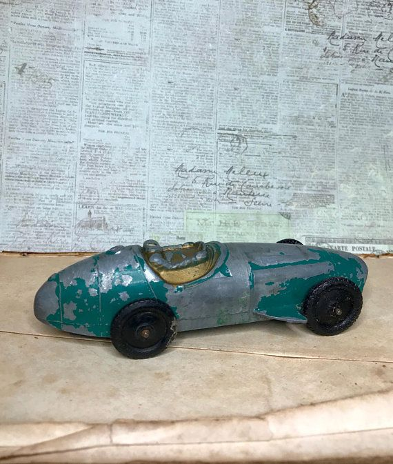 Tootsie Toy Race Car Metal Toy Car Made In Usa Green Etsy Toy Car Metal Toys Toy Race Cars