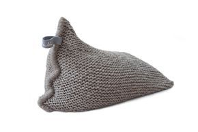 NEST > http://zilalila.com/shop/nest/nest-brown #Zilalila #Nest #Wool #Knitted #Chunky #Fine #Kids #Label #Interior #Nepal #Fairtrade #Friendly #Conscious #Beanbag #Eco #Children #Grey #White #Brown #Gebreide #Zitzak #Handmade #Sukha #Amsterdam