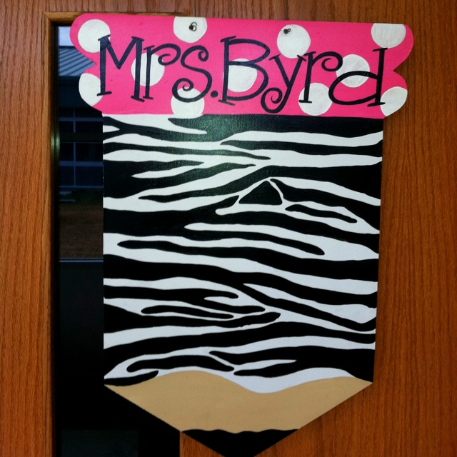 For teacher door  sc 1 st  Pinterest & 943 best Zebra Themed Classroom images on Pinterest | Classroom ... pezcame.com