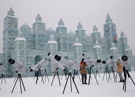 Cina Harbin Festival del ghiaccio e della neve