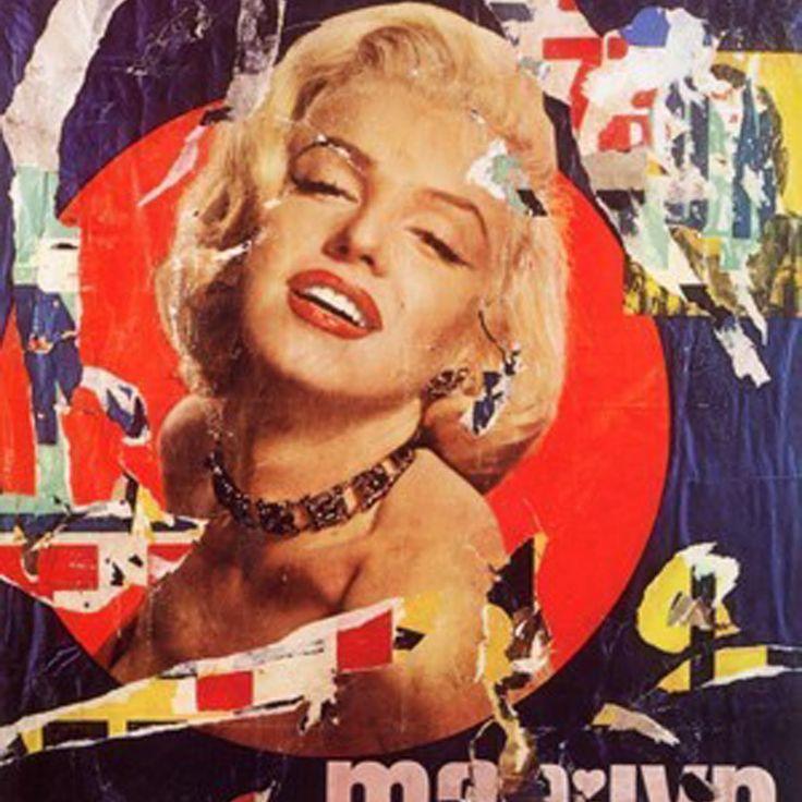#RicordandoMimmoRotella, il pittore della carta incollata (Catanzaro, 7 ottobre 1918). ▶ Dècollages originali e multipli disponibili in galleria !  Per informazioni visita il nostro sito http://artemirabilia.com/