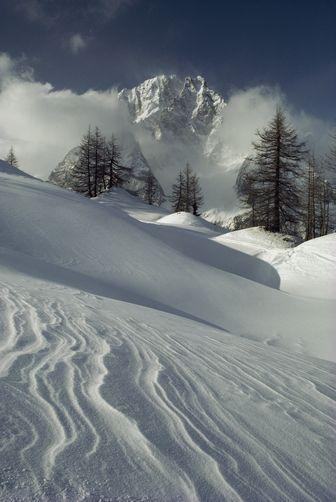 Mt. Blanc, Courmayeur, Italy.