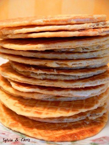 Les gaufres flamandes fourrées à la vanille - Sylvia et Chris : Carnet de voyages, recettes du Monde, autour du globe et de l'assiette
