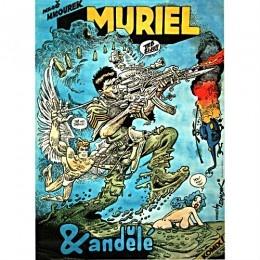 MURIEL A ANDELE KAREL SAUDEK CZECH POSTER