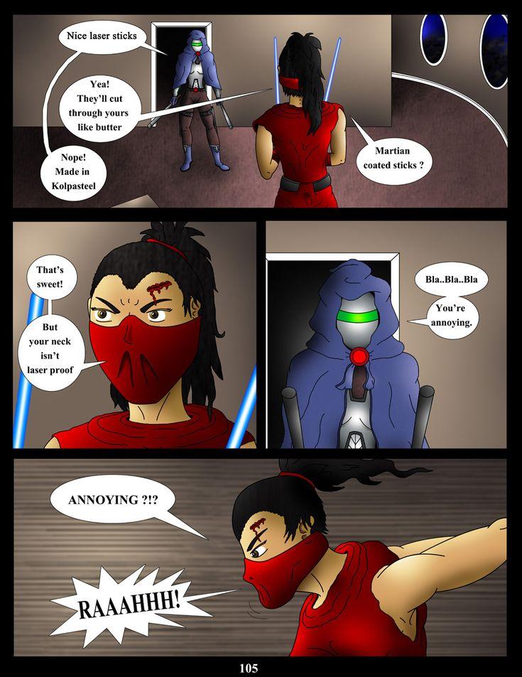 page 105 #webcomic #comic #bd #bountyhunter